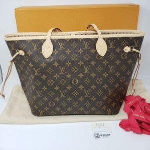 6545cd0a4344 Louis Vuitton Neverfull Handbags
